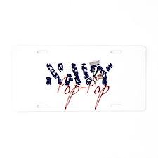 navypoppop.jpg Aluminum License Plate