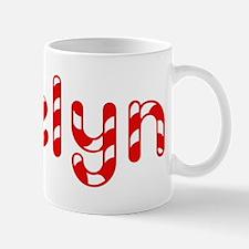 Evelyn - Candy Cane Mug