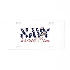 navygrandmom.jpg Aluminum License Plate