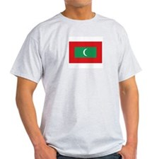Maldives Ash Grey T-Shirt