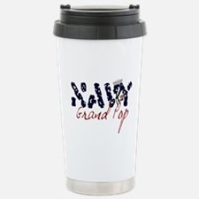 navygrandpop.jpg Travel Mug