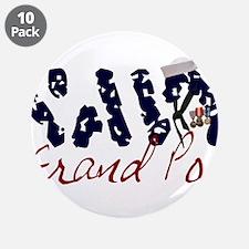 """navygrandpop.jpg 3.5"""" Button (10 pack)"""