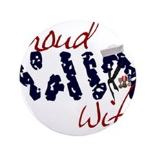 "proudnavywife.jpg 3.5"" Button (100 pack)"