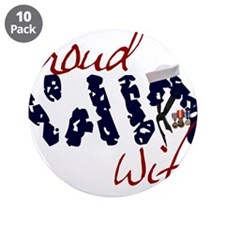 "proudnavywife.jpg 3.5"" Button (10 pack)"