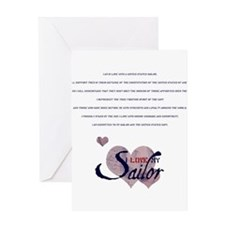 spousecreed.png Greeting Card