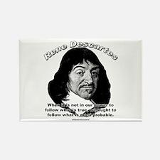 René Descartes 01 Rectangle Magnet