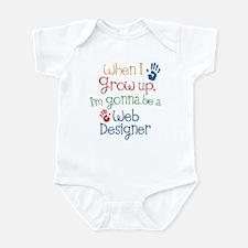 Future Web Designer Infant Bodysuit