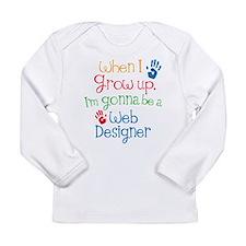 Future Web Designer Long Sleeve Infant T-Shirt