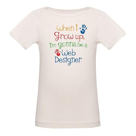 Future Web Designer Organic Baby T-Shirt