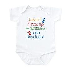 Future Web Developer Infant Bodysuit
