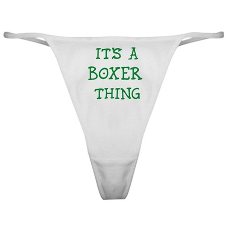 Boxer thing Classic Thong