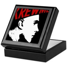 Cute Head logo Keepsake Box