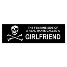 Girlfriend Bumper Bumper Sticker