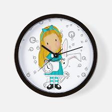 T-shirt_alicerabbit_kat.png Wall Clock