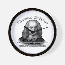 Thomas Hobbes 01 Wall Clock