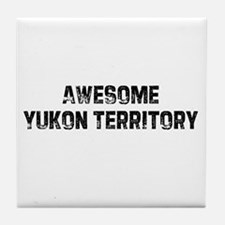 Awesome Yukon Territory Tile Coaster