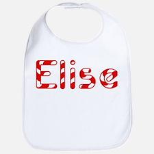 Elise - Candy Cane Bib