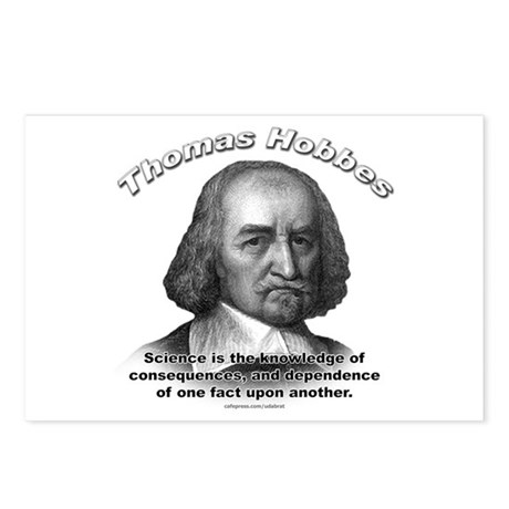 Thomas Hobbes 02 Postcards (Package of 8)