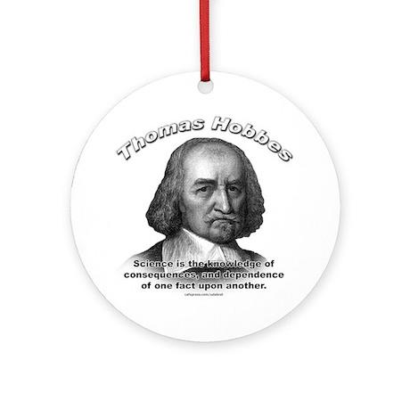 Thomas Hobbes 02 Ornament (Round)
