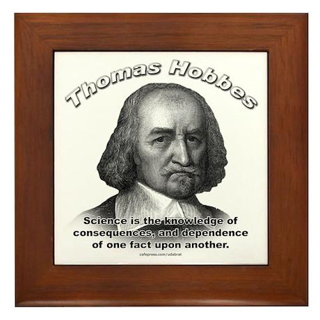 Thomas Hobbes 02 Framed Tile