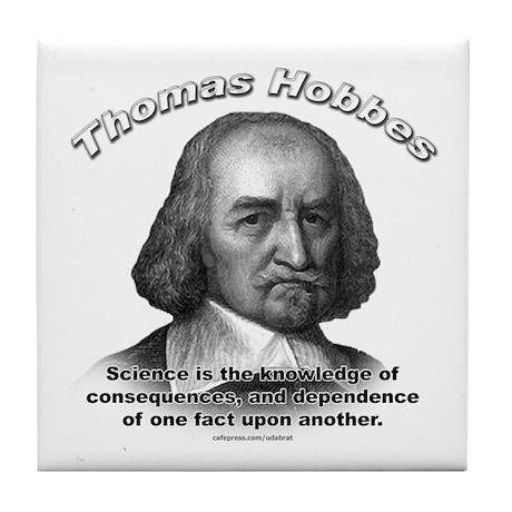 Thomas Hobbes 02 Tile Coaster