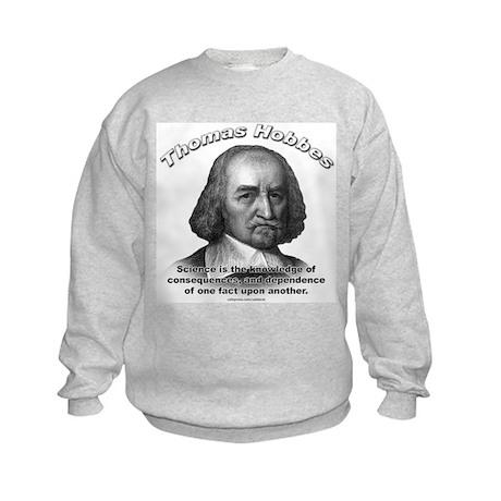 Thomas Hobbes 02 Kids Sweatshirt