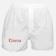 Elena - Candy Cane Boxer Shorts