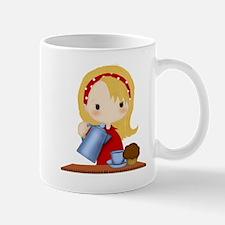 Morning Coffee Girl Mug