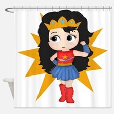 Super Girl Shower Curtain