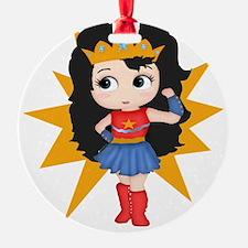 Super Girl Ornament