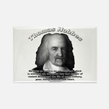 Thomas Hobbes 03 Rectangle Magnet
