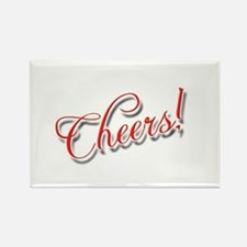 Cheers! Rectangle Magnet
