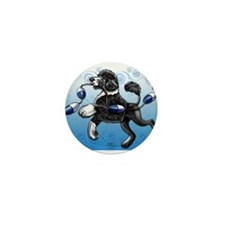 Portuguese Water Dog Mini Button