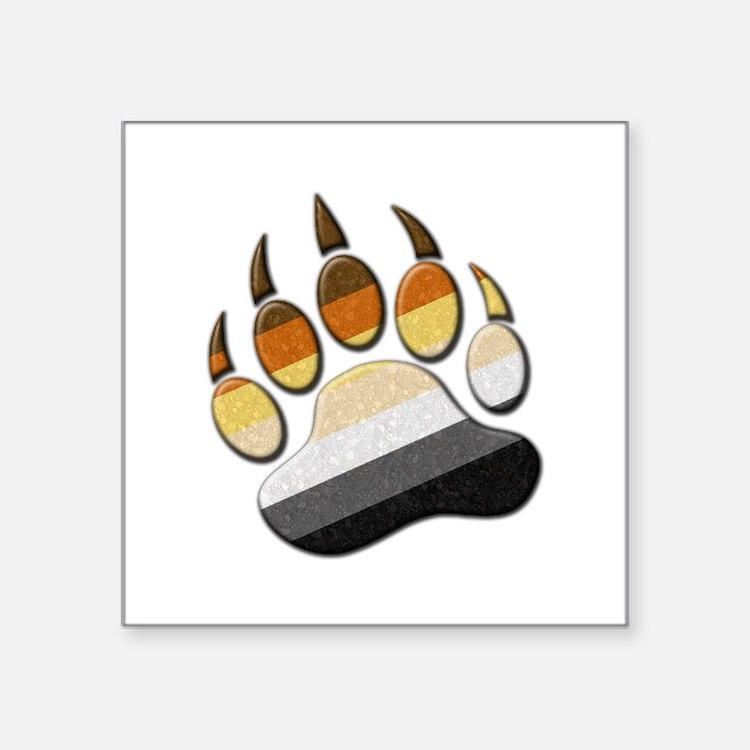 Bear Paw Sticker