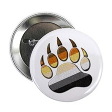 "Bear Paw 2.25"" Button"