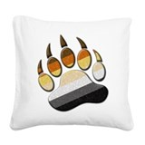 Bear pride Throw Pillows
