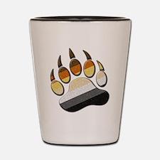 Bear Paw Shot Glass