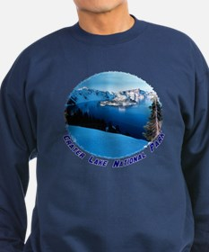 Crater Lake National Park Sweatshirt (dark)