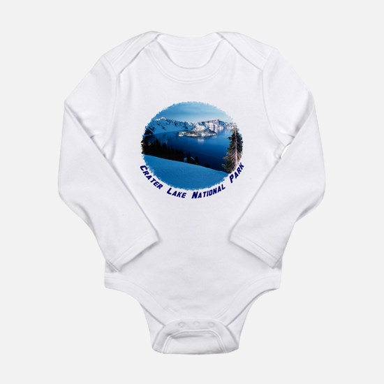 Crater Lake National Park Long Sleeve Infant Bodys