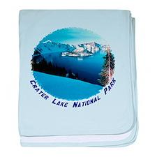 Crater Lake National Park baby blanket