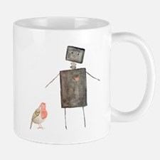 Robot and Bird Mug