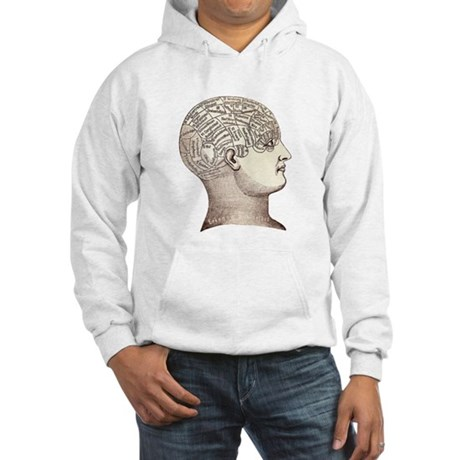 Victorian Phrenology Hooded Sweatshirt