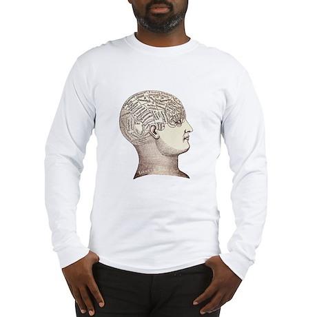 Victorian Phrenology Long Sleeve T-Shirt