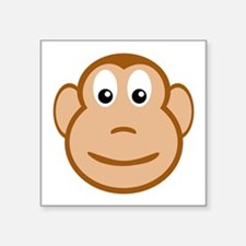 Monkey Face Sticker