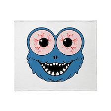 Monster Face Throw Blanket