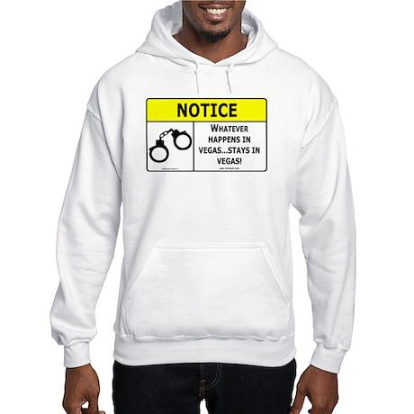Whatever Happens in Vegas Hooded Sweatshirt