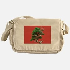 Juniper bonsai Messenger Bag