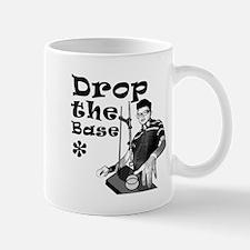 Drop The Base Black Mug