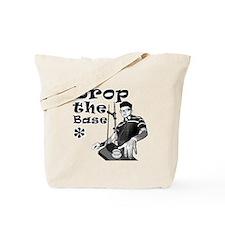 Drop The Base Black Tote Bag