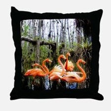 Big Cyprus National Preserve Throw Pillow